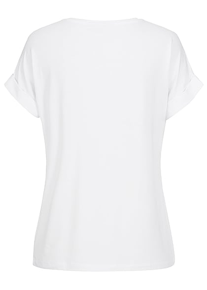 ONLY Mujer NOOS Solid T-Shirt blanco